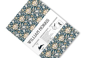 William Morris  : Gift & Creative Paper Book - Presentpappersbok