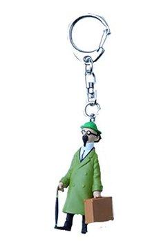 Tintin :  Nyckelring - Professor Kalkyl med resväska