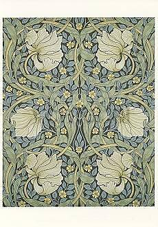 William Morris : Pimpernel - Vykort
