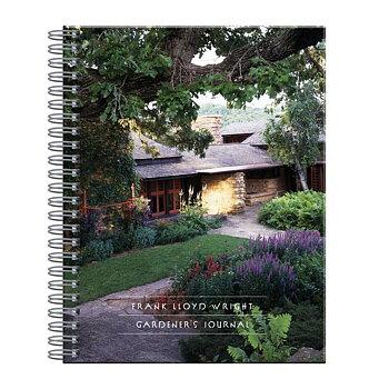 Frank Lloyd Wright :  Gardener's Journal - Mästerarkitektens Trädgårdsdagbok spiralbunden
