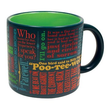 Last lines of literature : Mug - mugg 40 cl