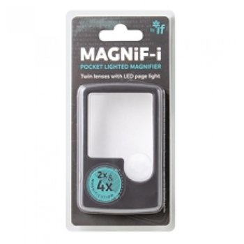 Magnif-i : Pocket Lighted Magnifier - Förstoring med belysning