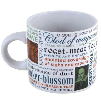William Shakespeare : Insults Mugg