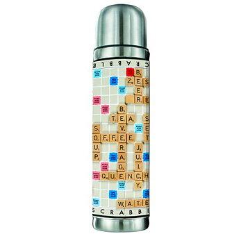 Scrabble : Termos i rostfritt stål