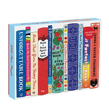 Pussel 1000 bitar : Ideal Bookshelf Universals
