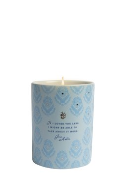 Jane Austen : Scented candle Citron & blossom - If I loved you less  - Doftljus i porslinsmugg