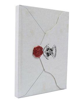 Harry Potter: Hogwarts Acceptance Letter Hardcover Ruled Journal - Linjerad skrivbok med hårda pärmar och magnetlås