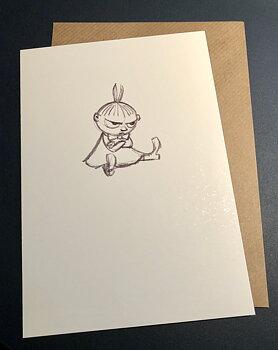 Mumin : Lilla My sitter - Kort med kuvert