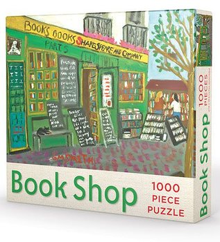 The Book Shop Puzzle : Pussel 1000 bitar