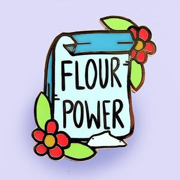 Flour Power : Enamel Pin
