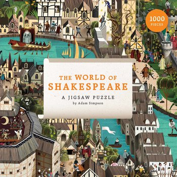 Pussel 1000 bitar : William Shakespeare : The world of Shakespeare