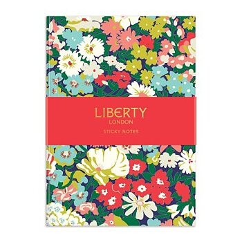 Liberty London : Floral Sticky Notes - Bok med hårda pärmar och 540 sticky notes