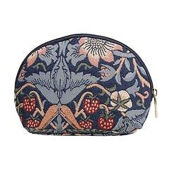 William Morris : Strawberry Thief blue Cosmetic Bag - Necessär Blå