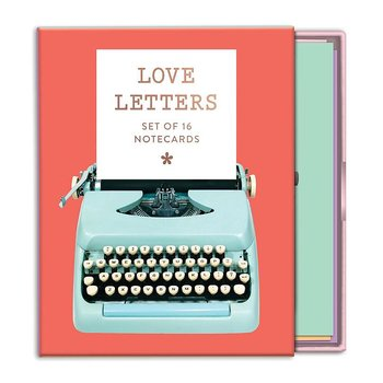 Love Letters : Greeting Card Assortment - kortask med låda att dra ut 16 dubbla kort och kuvert
