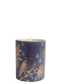Jane Austen : Scented candle Gardenia - Indulge your imagination  - Doftljus i porslinsmugg