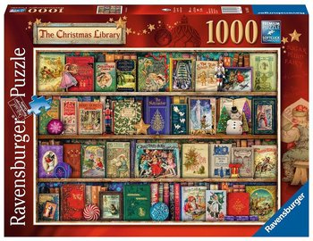Ravensburger : The Christmas Library - Pussel 1000 bitar