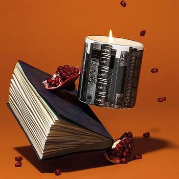 The Library : Luxury scented candle  - Doftljus i keramikmugg 300 g