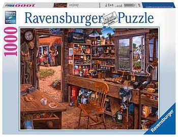 Ravensburger : Farfars verkstad - Pussel 1000 bitar