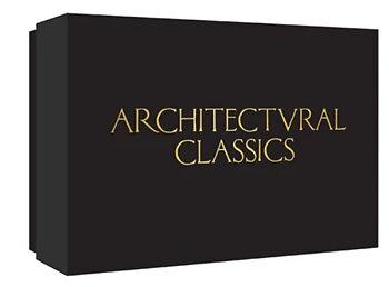 Architectural Classics Notecards - Kortask med 20 kort och kuvert