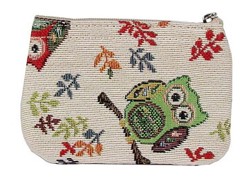 Owl : Zip Coin Purse - Börs