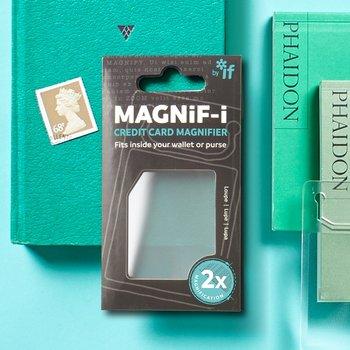 Magnif-i : Credit Card Magnifier : Ha alltid förstoringen med!
