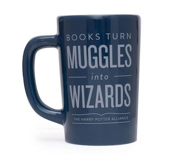Books turns Muggles into Wizards : Mugg 35 cl