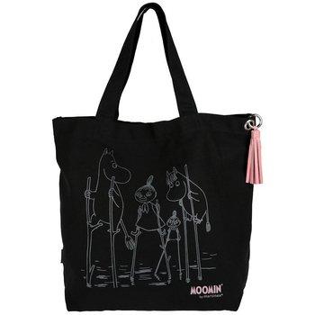 Mumin :  Moomin tygväska svart