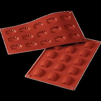 Siliconflex 15 : Formar till Madeleinekakor - 15 st minikakor