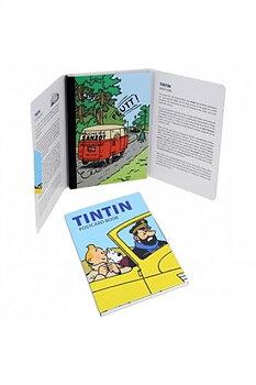 Tintin :  Bilar - kortask med 16 vykort