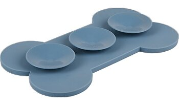 Lick pad Bone Medium med sugproppar