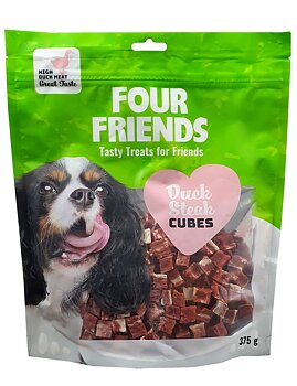 Four Friends Duck Steak Cubes