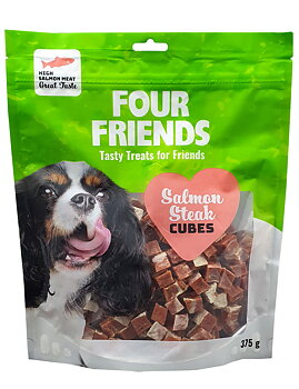 Four Friends Salmon Steak Cubes