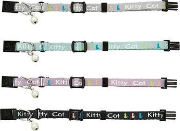 Junior kitten halsband, Kitty Cat med snabblås, bjällra