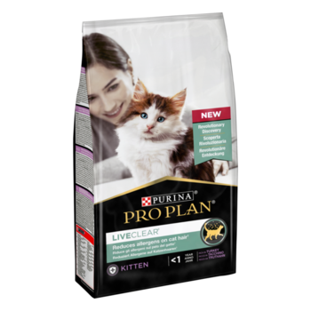 Purina Pro Plan Cat LiveClear Kitten Turkey