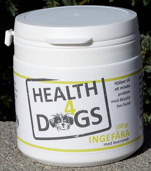 Health4Dogs Ingefära