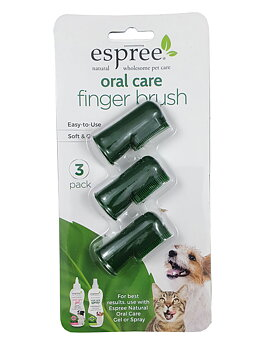 Espree Fingertandborstar 3-pack