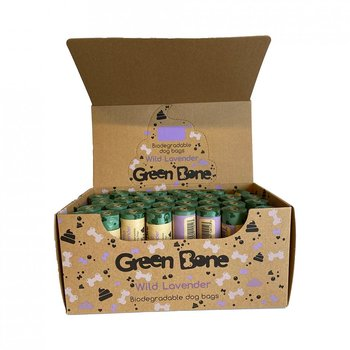 Green bone bajspåsar Lavender