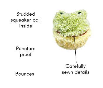 Hundleksak Furry Ball friends