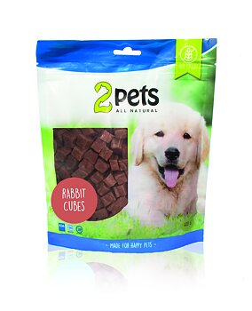 2pets Dogsnack Rabbit Cubes