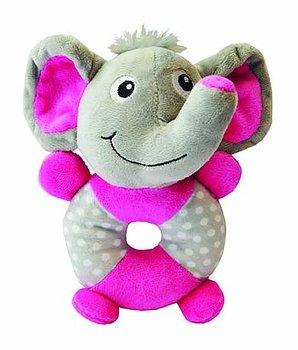 Hundleksak Play Ring-Elephant Little rascals