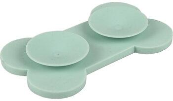 Lick pad Bone Small med sugproppar