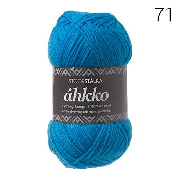Áhkko Turkos 71