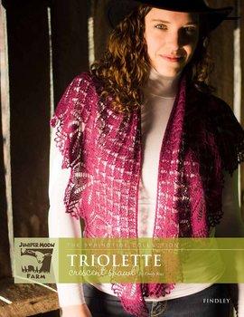 Triolette sjal