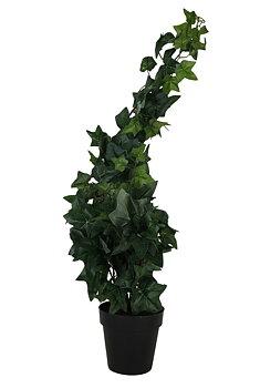Konstgjord Murgröna i svart kruka