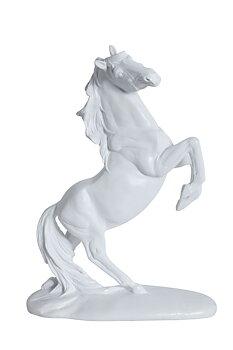 Prydnadshäst Stegrande Vit H30cm