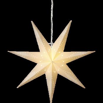 Vit hängande adventstjärna Katabo100cm