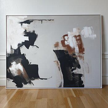 SPLASH, abstrakt oljemålning