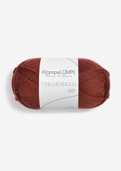 Tunn Merinoull KlompeLOMPE - 3355 Rost