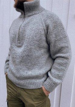 Zipper Sweater Man
