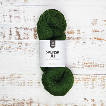 Svensk Ull 100 g - Pine Tree Green